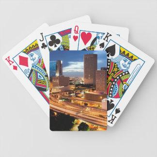 Downtown City View Poker Deck