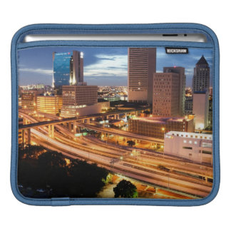 Downtown City View Sleeves For iPads