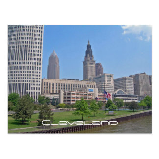 Downtown Cleveland, Ohio Postcard