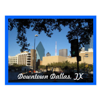 Downtown Dallas, TX Postcard