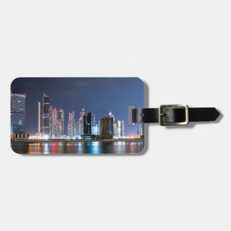 Downtown Dubai Luggage Tag