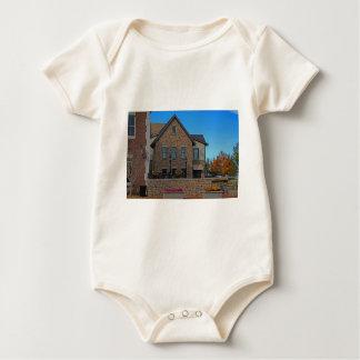 Downtown Dublin Ohio IV Baby Bodysuit