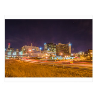 Downtown Hartford Connecticut Postcard