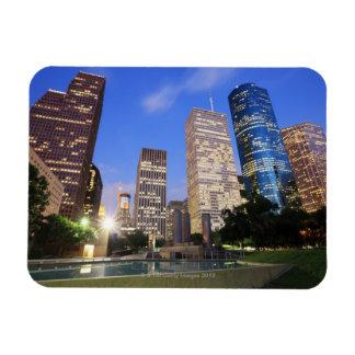 Downtown Houston, Texas Rectangular Photo Magnet