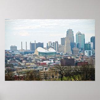 Downtown Kansas City, Missouri, View Poster
