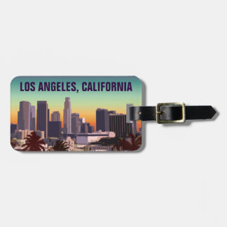 Downtown L.A. California Luggage Tag