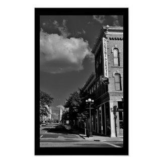 Downtown La Crosse Poster