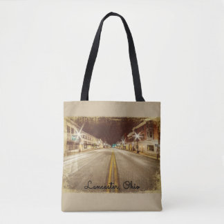 Downtown Lancaster Ohio Tote Bag
