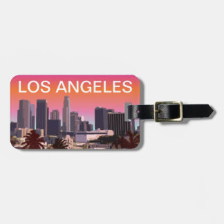 Downtown Los Angeles - Customizable Image Luggage Tag