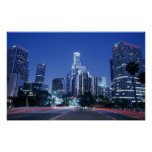 Downtown Los Angeles Poster