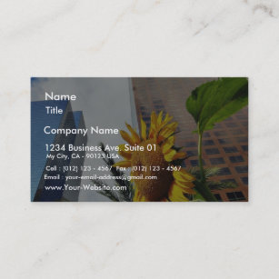 City of los angeles business cards zazzle au downtown los angeles skyscrapers business card reheart Image collections