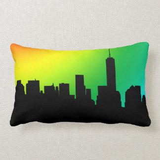 Downtown Manhatten skyline cushion