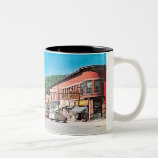 Downtown Munising 1976 Two-Tone Coffee Mug