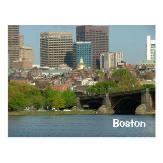 Downtown of Boston Postcard