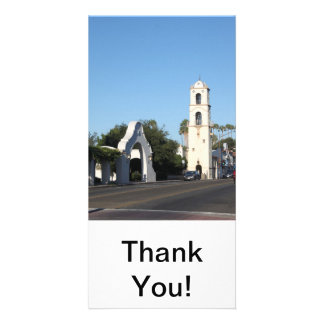 Downtown Ojai Photo Card Template