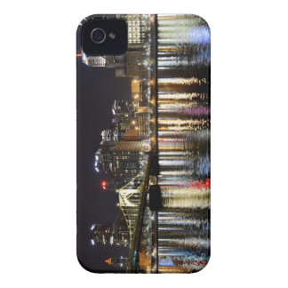 Downtown Pittsburgh at Night iPhone 4 Case