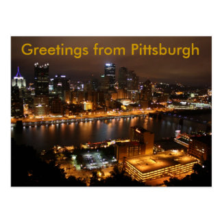 Downtown Pittsburgh, Greetings from Pittsburgh Postcard