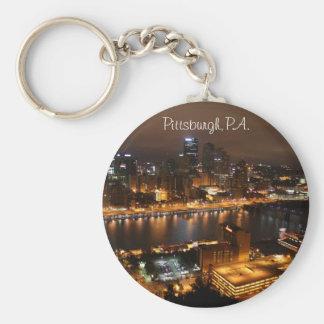 Downtown Pittsburgh, PA. Key Ring