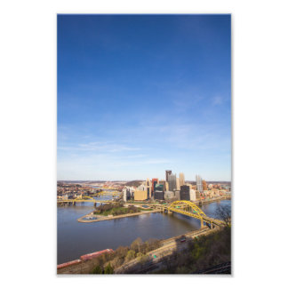 Downtown Pittsburgh, Pennsylvania Photo Print