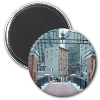 Downtown Providence 6 Cm Round Magnet
