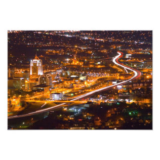 Downtown Roanoke, Virginia Photo Print