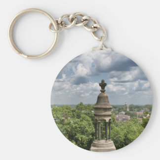 Downtown Rome, Georgia Basic Round Button Key Ring