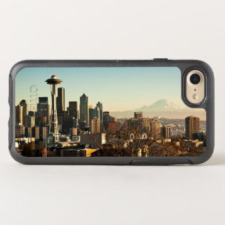 Downtown Seattle skyline and Space Needle OtterBox Symmetry iPhone 7 Case