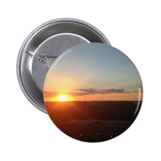 Downtown Sunset 6 Cm Round Badge