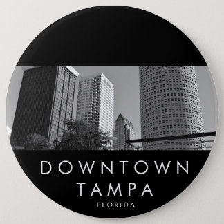 Downtown Tampa 6 Cm Round Badge