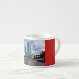 Downtown Tampa, FL Mug. Espresso Cup