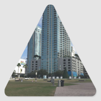 Downtown Tampa, FL Stuff! Triangle Sticker