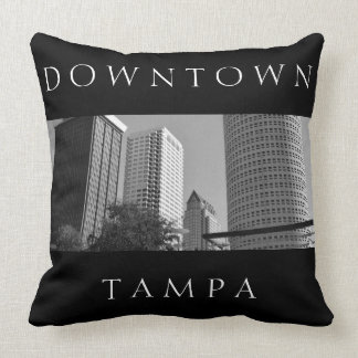 Downtown Tampa | Skyscraper Personalized Cushion