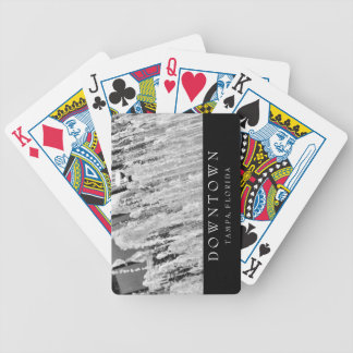 Downtown Tampa | Water Fountain Bicycle Playing Cards