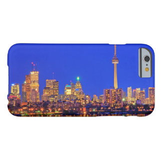 Downtown Toronto skyline at night Barely There iPhone 6 Case