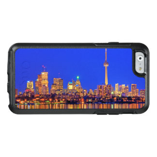 Downtown Toronto skyline at night OtterBox iPhone 6/6s Case