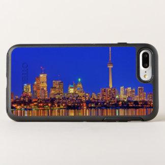 Downtown Toronto skyline at night OtterBox Symmetry iPhone 7 Plus Case
