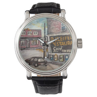 Downtown Willoughby, Ohio Painting Watch
