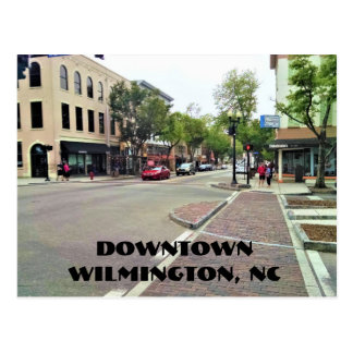Downtown Wilmington North Carolina Postcard