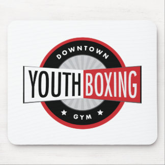 Downtown Youth Boxing Gym Mousepad