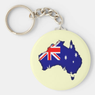 Downunder Day Key Ring