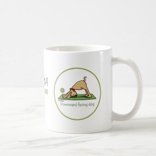 Downward Facing Dog - yoga mug