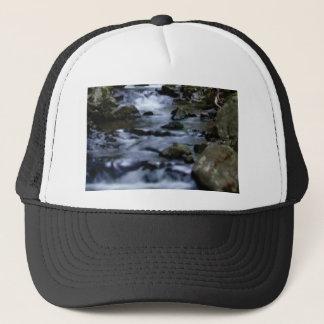 downward flow of creek trucker hat