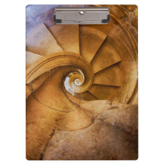 Downward spirl staircase, Portugal Clipboard