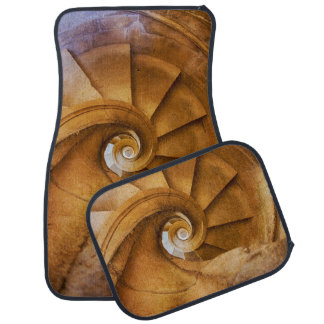 Downward spirl staircase, Portugal Floor Mat