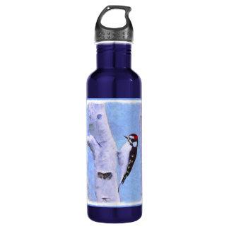 Downy Woodpecker 710 Ml Water Bottle