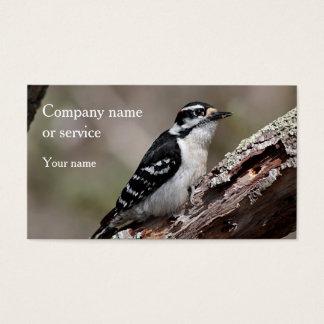 Downy Woodpecker Business Card