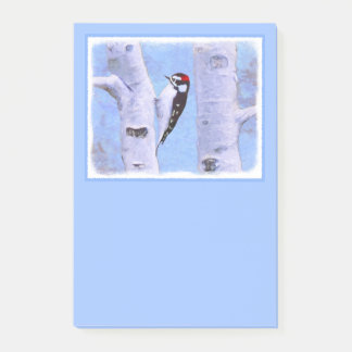 Downy Woodpecker Post-it Notes