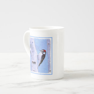 Downy Woodpecker Tea Cup