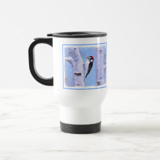 Downy Woodpecker Travel Mug