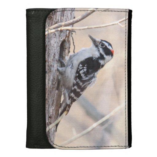 Downy Woodpecker Wallet For Women